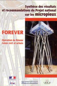 Projet National FOREVER Editeur : Presses de l'école nationale des ponts et chaussées Code ISBN : 2-85978-384-9 Code barre : 9782859783846