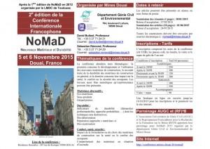 NoMaD_Mines Douai_2015