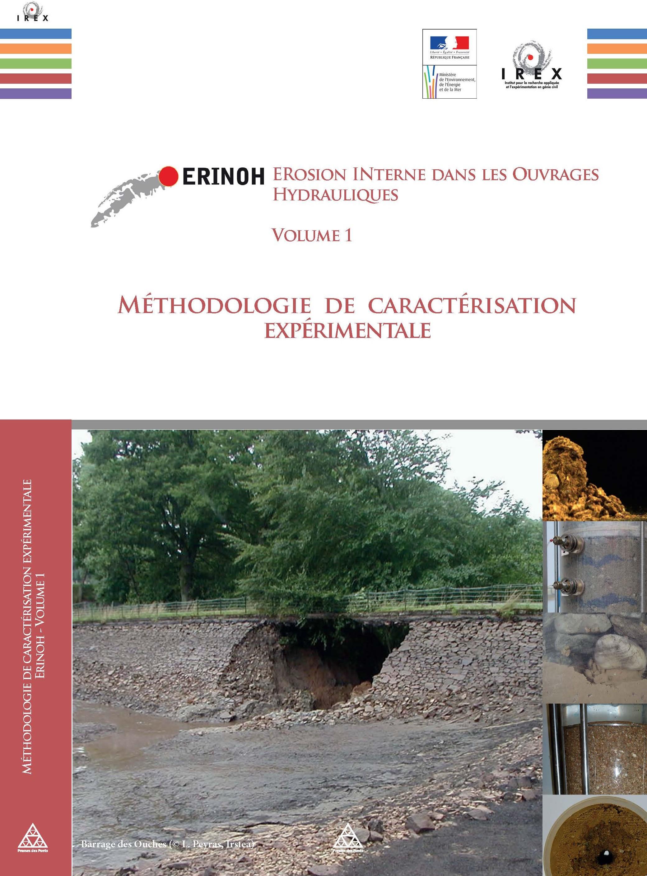 """Parution de l'ouvrage """"Méthodologie de caractérisation expérimentale"""" du Projet National ERINOH"""