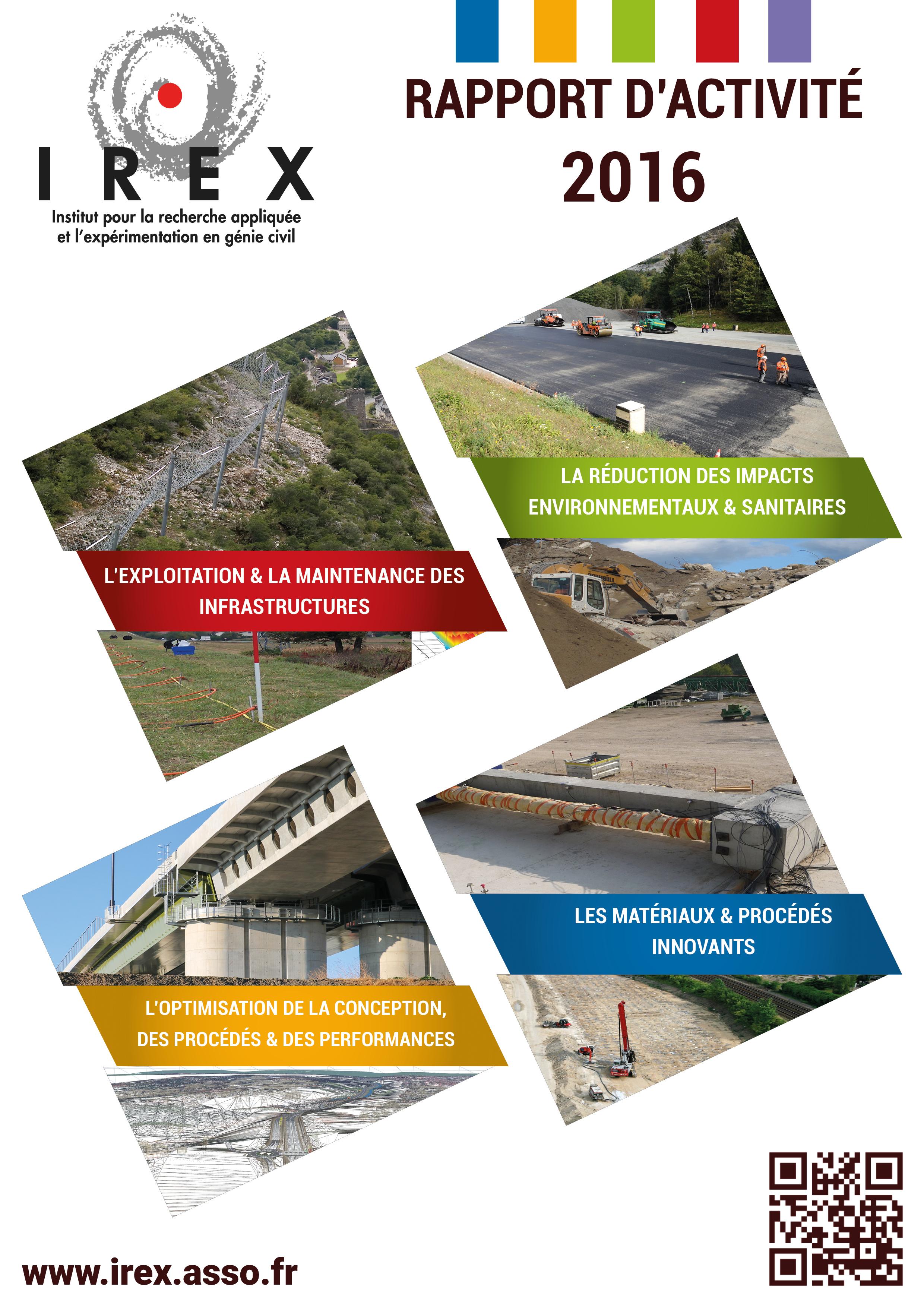 Le rapport d'activité 2016 est disponible !
