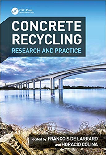 "Parution de l'ouvrage ""Concrete Recycling: Research and Practice"
