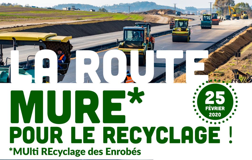 La route MURE pour le recyclage : les présentations sont en ligne !