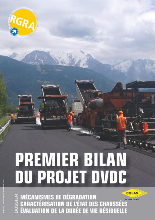 Revue RGRA n°977 – Premier bilan du Projet National DVDC