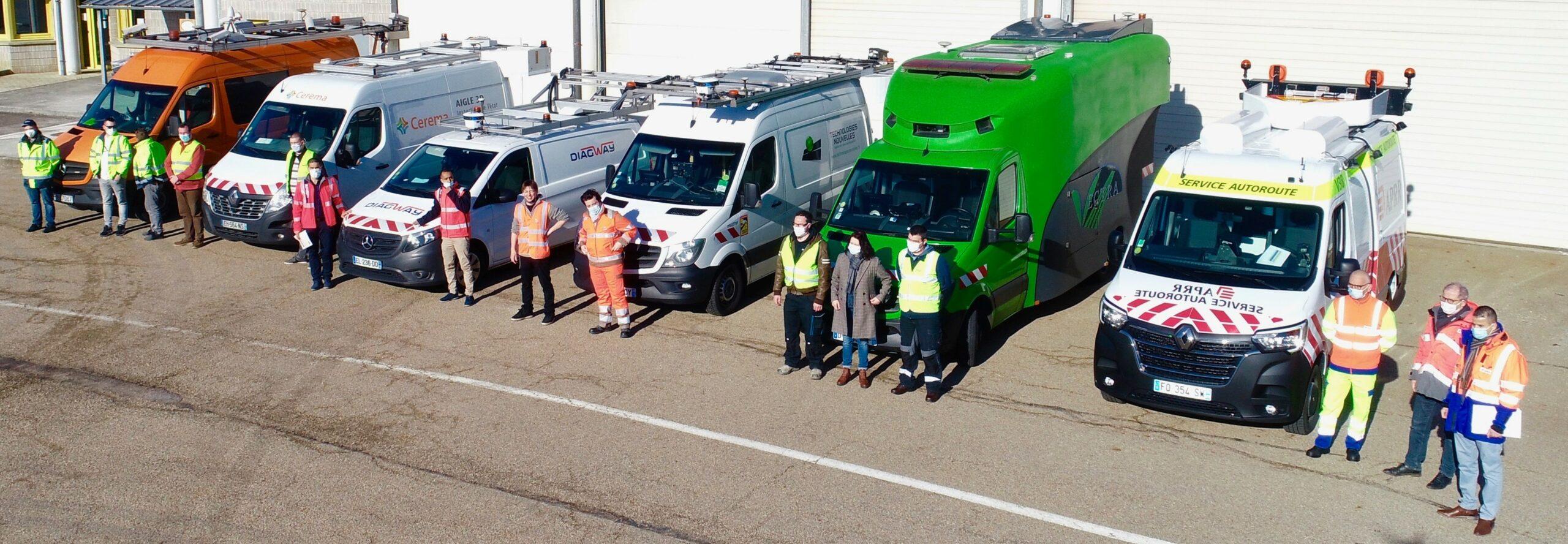 Auscultation des chaussées autoroutières - Le Projet National DVDC réalise une campagne d'essais croisés LCMS